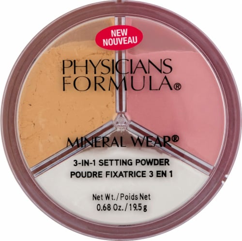 Physicians Formula Mineral Wear 3 in 1 Setting Powder Perspective: front