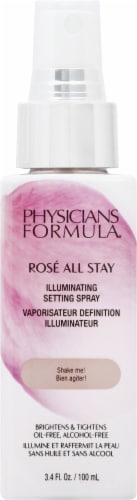 Physicians Formula Rose All Stay Illuminating Setting Spray Perspective: front