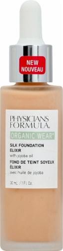 Physicians Formula Organic Wear 03 Light Silk Foundation Elixir Perspective: front
