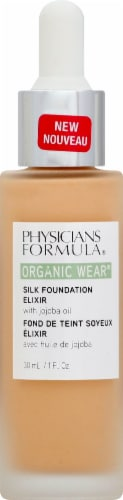 Physicians Formula Organic Wear 05 Medium Silk Foundation Elixir Perspective: front