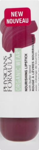 Physicians Formula Organic Wear Sugar Plum Nourishing Lipstick Perspective: front