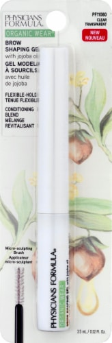 Physicians Formula Organic Wear Clear Brow Shaping Gel Perspective: front