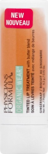Physicians Formula Organic Wear Gingersnap Tinted Lip Treatment Perspective: front