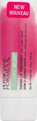 Physicians Formula Organic Wear Berry Me Tinted Lip Treatment Perspective: front