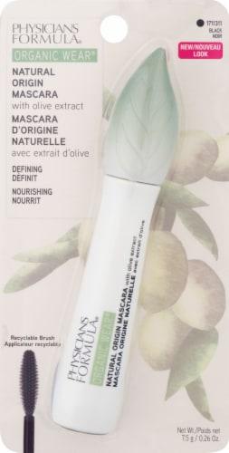 Physicians Formula Organic Wear Natural Origin Black Mascara Perspective: front
