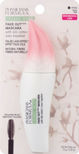 Physicians Formula Organic Wear Fake Out Black Mascara Perspective: front