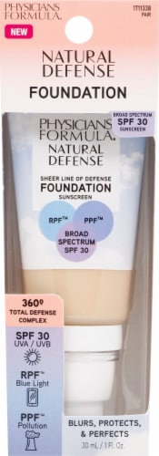 Physicians Formula Natural Defense Fair Foundation SPF30 Perspective: front