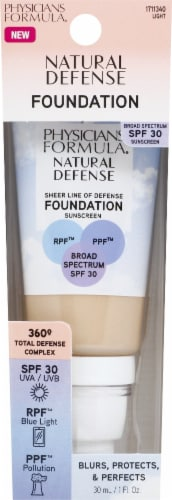 Physicians Formula Natural Defense Light Foundation SPF30 Perspective: front