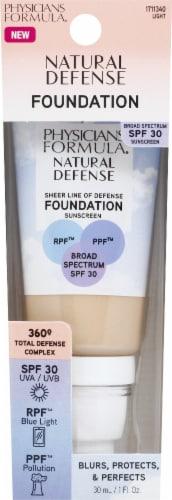 Physicians Formula Natural Defense Light Foundation SPF30 Perspective: front