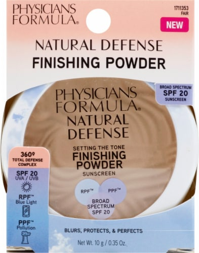 Physicians Formula Setting the Tone Fair Finishing Powder Perspective: front
