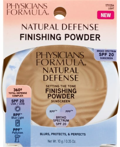 Physicians Formula Natural Defense Setting the Tone Finishing Powder Perspective: front