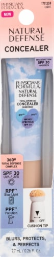 Physicians Formula Natural Defense Total Coverage Light Concealer SPF 30 Perspective: front