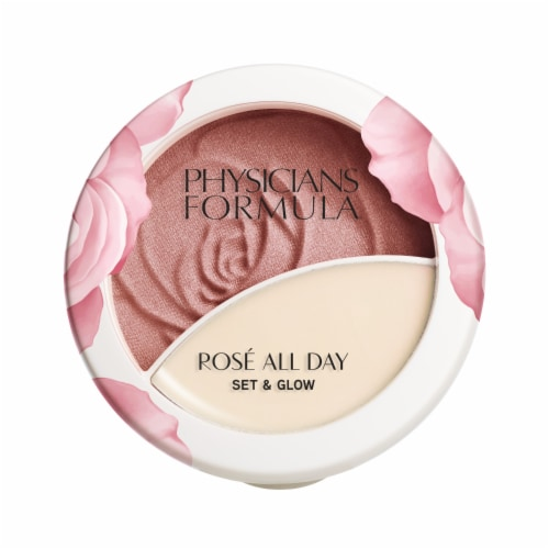 Physicians Formula Rose All Day Brightening Rose Illuminating Powder & Balm Perspective: front