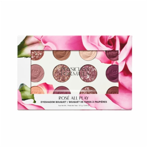 Physicians Formula Rose All Play Eyeshadow Bouquet Perspective: front