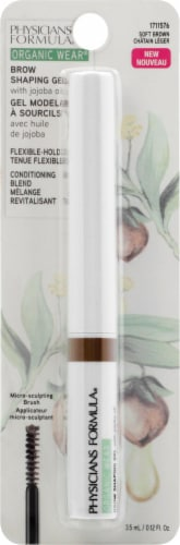 Physicians Formula Organic Wear Soft Brown Brow Shaping Gel Perspective: front