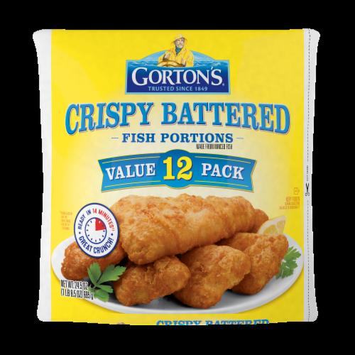 Gorton's Crispy Battered Fish Portions Value Pack Perspective: front