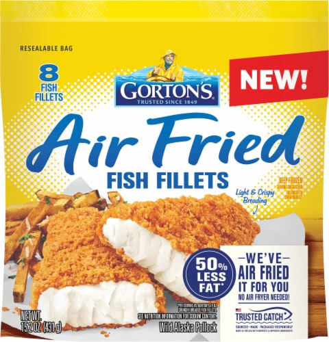 Gorton's® Air Fried Fish Fillets Perspective: front