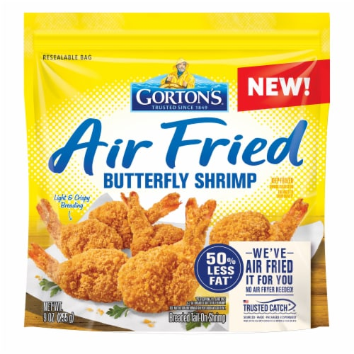 Gorton's® Air Fried Butterfly Shrimp Perspective: front