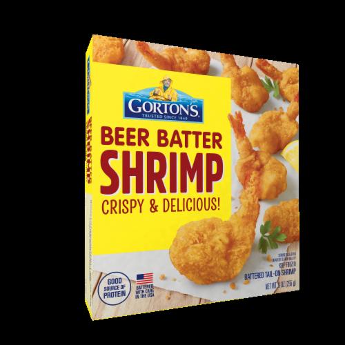 Gorton's Beer Battered Tail-On Shrimp Perspective: front