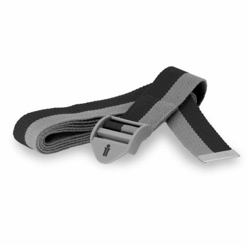 Bollinger® Yoga Strap - Titanium Perspective: front
