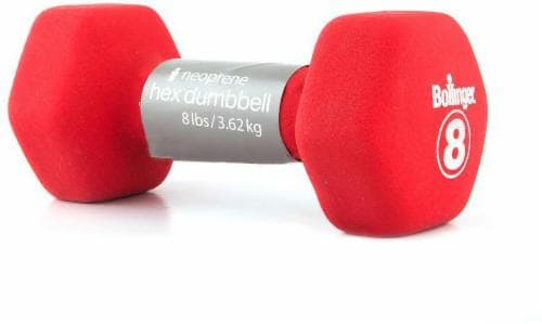 Bollinger® 8-Pound Hex Bright Bell - Red Perspective: front