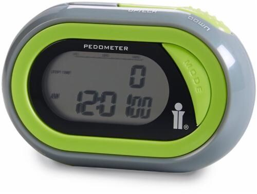 Bollinger® Pedometer - Green/Gray Perspective: front