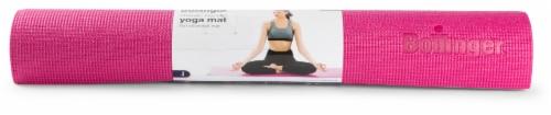 Bollinger® Classic No-Slip Yoga Mat - Raspberry Perspective: front