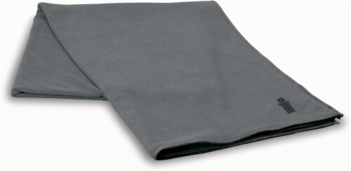 Bollinger® Yoga Body Towel - Gray Perspective: front