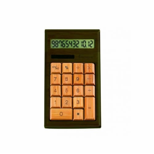 Impecca Cb1203 Standard Function Calculator Perspective: front