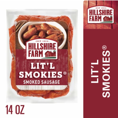 Hillshire Farm Lit'l Smokies Smoked Sausage Perspective: front