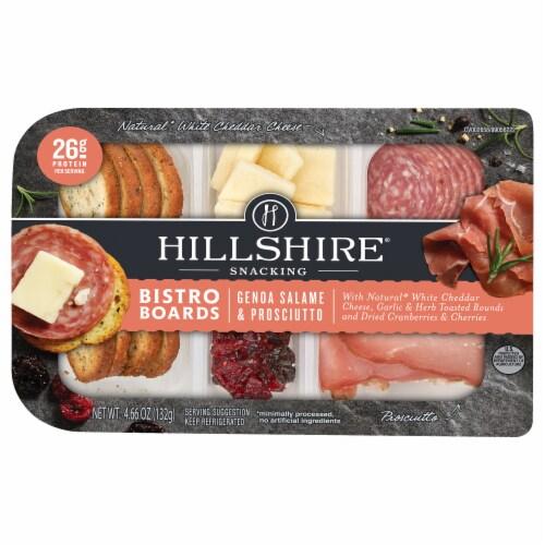 Hillshire Farm Genoa Salame & Prosciutto Bistro Board Perspective: front