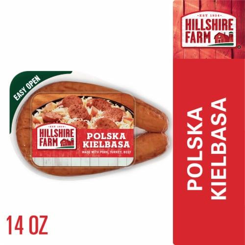 Hillshire Farm Polska Kielbasa Smoked Sausage Perspective: front