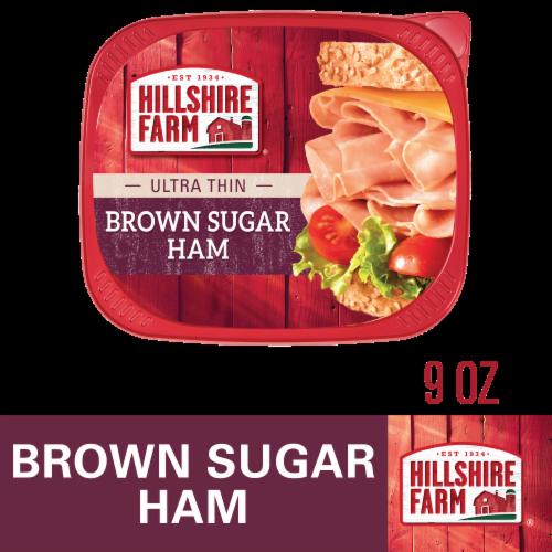 Hillshire Farm® Ultra Thin Sliced Brown Sugar Ham Perspective: front