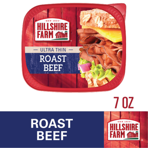 Hillshire Farm Ultra Thin Sliced Lunchmeat Roast Beef Perspective: front