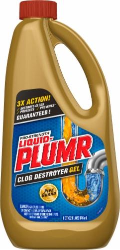 Liquid-Plumr Pro-Strength Clog Destroyer Gel Perspective: front