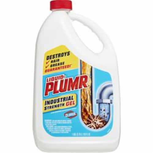 Liquid-Plumr 128 Oz. Pro-Strength Clog Destroyer Drain Cleaner 00252 Perspective: front