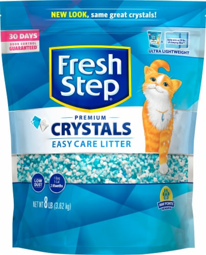 Fresh Step Crystals Premium Cat Litter Perspective: front