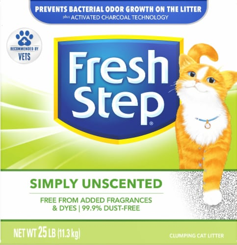 Fresh Step Simply Unscented Multi-Cat Clumping Litter Perspective: front
