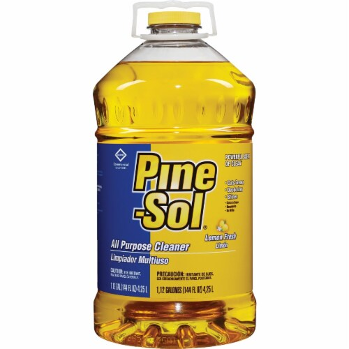 Pine-Sol 144 Oz. Lemon Fresh Multi-Surface All-Purpose Cleaner  30891 Perspective: front