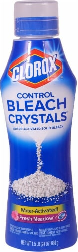 Clorox Fresh Meadow Control Bleach Crystals Perspective: front