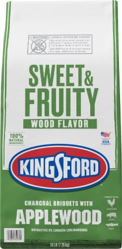 Kingsford Sweet & fruity Wood Flavor Applewood Charcoal Briquets Perspective: front