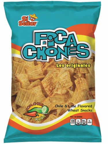 Si Senor Chile & Lime Pica Chones Wheat Snack Perspective: front