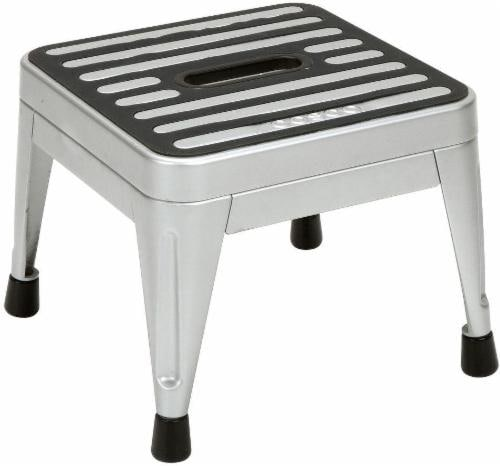 Cosco Steel No-Fold 1-Step Stool Perspective: front