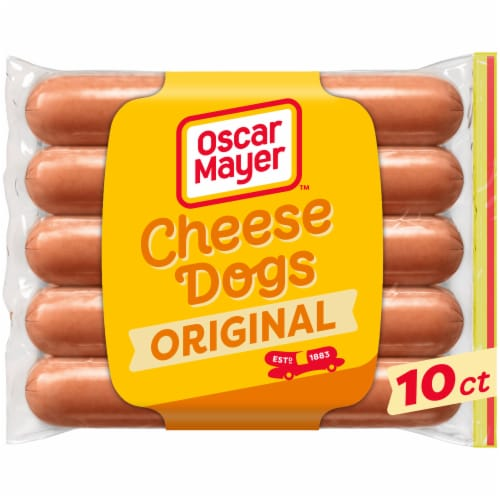 Oscar Mayer Uncured Cheese Hot Dogs Perspective: front