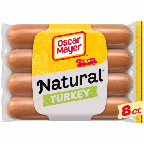 Oscar Mayer Selects Natural Gluten Free Uncured Turkey Franks Perspective: front