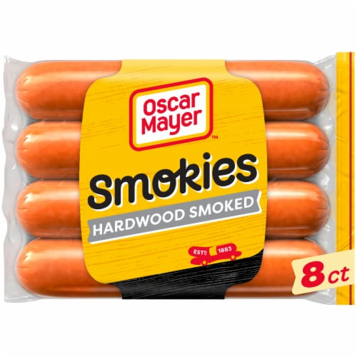 Oscar Mayer Smokies Uncured Hardwood Smoked Sausage Perspective: front