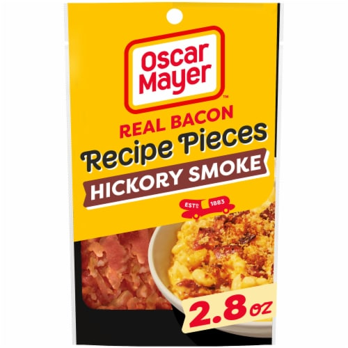 Oscar Mayer Real Bacon Recipe Pieces Perspective: front