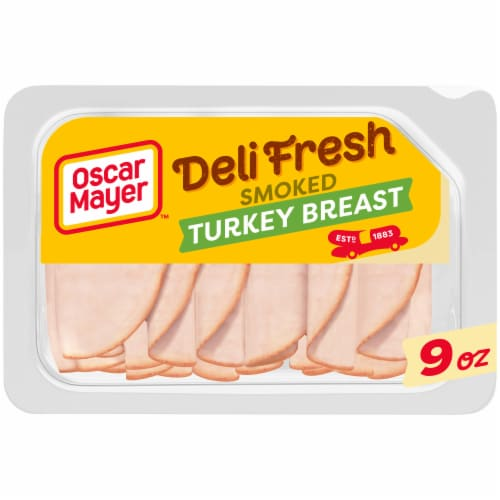 Oscar Mayer Deli Fresh Smoked Turkey Breast Perspective: front