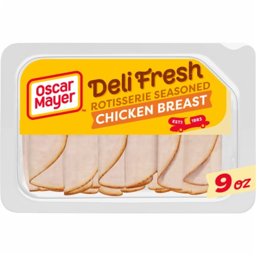 Oscar Mayer Deli Fresh Rotisserie Seasoned Chicken Breast Perspective: front