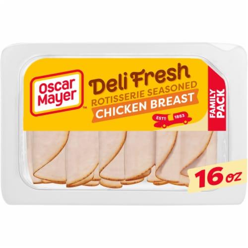 Oscar Mayer Deli Fresh Rotisserie Seasoned Chicken Breast Perspective: front